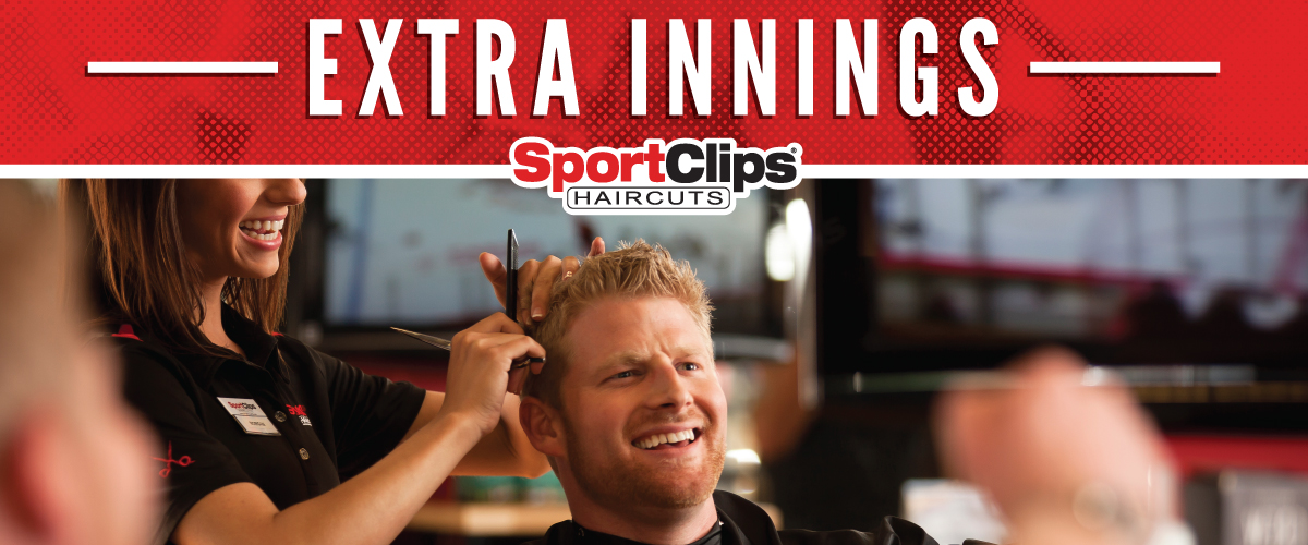 The Sport Clips Haircuts of Coconut Creek  Extra Innings Offerings
